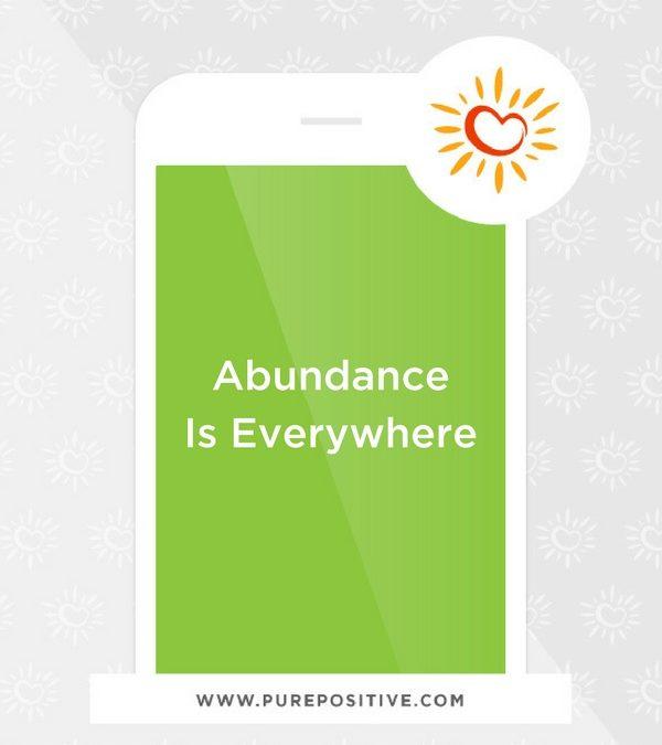 Abundance Is Everywhere
